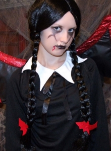Slutty Teen Shelby Teases In Her Slutty Halloween Costume - Picture 1