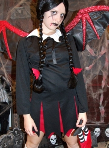 Slutty Teen Shelby Teases In Her Slutty Halloween Costume - Picture 4