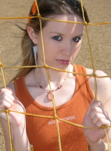 Cute Petite Teen Shelby Flashes Her Perky Tits Outdoors At The Public Park - Picture 9